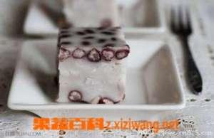 红豆椰香芋丝糕的材料和做法